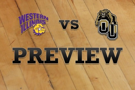 Western Illinois vs. Oakland: Full Game Preview