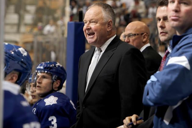 Maple Leafs' Nazem Kadri Credits Coach Randy Carlyle for Early-Season Success
