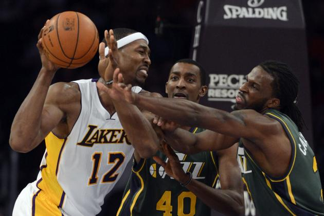 Lakers Beat Jazz 102-84