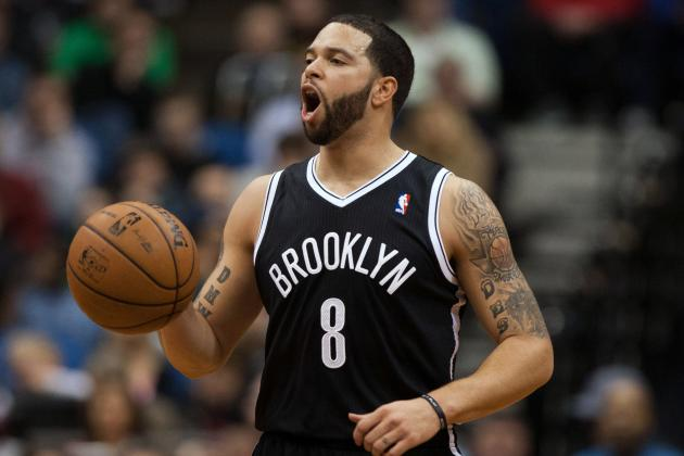 Deron Williams Injures Thigh, Uncertain for Sunday vs. Indiana