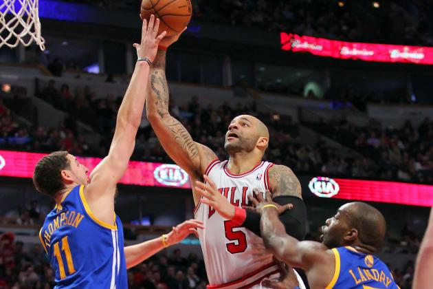 Rapid Reaction: Bulls 103, Warriors 87