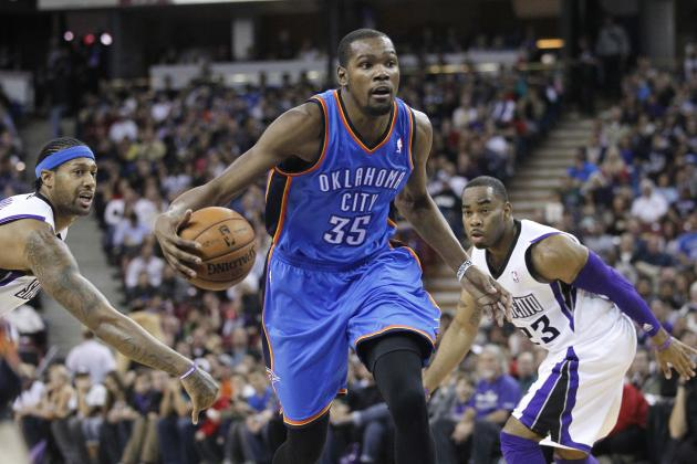 Thunder Starts Hot in 2nd Half, Rolls Past Kings
