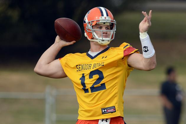 Ryan Nassib Senior Bowl: Syracuse QB Has Most Riding on Performance