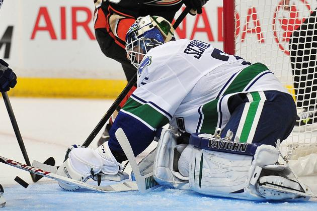 Canucks 5, Ducks 0