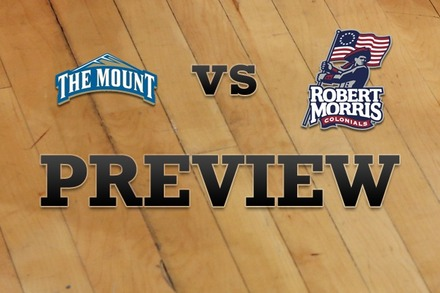 Mount St. Mary's vs. Robert Morris : Full Game Preview