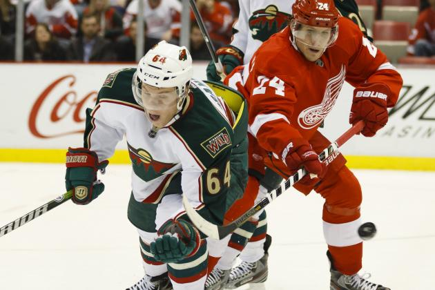 Bertuzzi Ignites Red Wings to Win over Wild