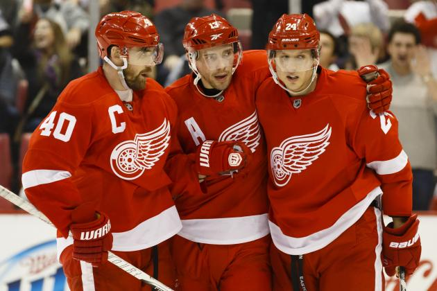 Detroit Red Wings: Pavel Datsyuk and the Greatest Pass Ever