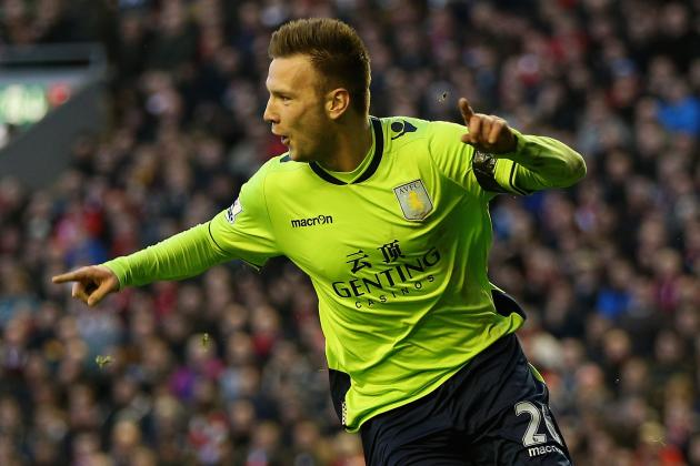 Aston Villa Forward Andreas Weimann Remains Upbeat Despite Cup Setbacks