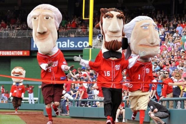 William Howard Taft Joins Washington Nationals Presidents' Race