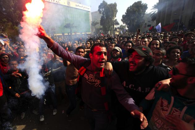 2 Soccer Players Among Dead in Egyptian Riots