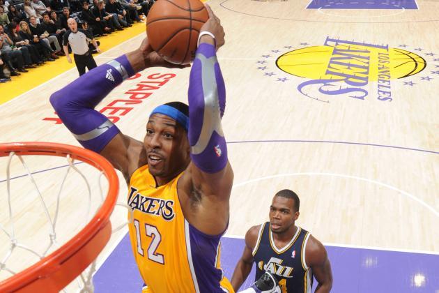 Kobe Bryant, Dwight Howard Impress in Los Angeles Lakers' Big Win over Utah Jazz