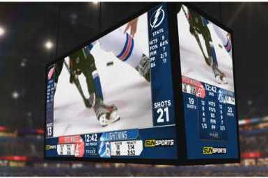 Lightning Have Enormous HD Video Board