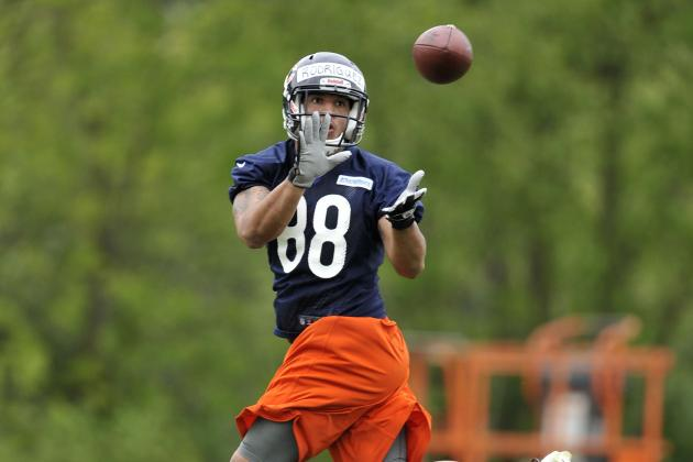 Chicago Bears May Have to Look Within Roster to Solve Tight End Problem