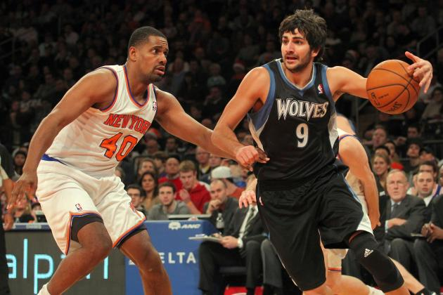 After Loss to Nets, Rubio Angry About Playing Time