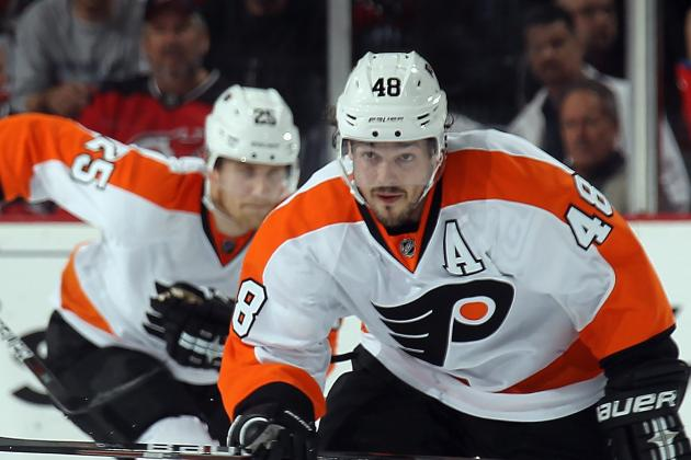 Briere Getting Closer for Flyers