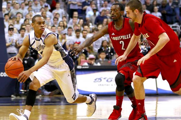 Georgetown Hoyas Upset No. 5 Louisville Cardinals, 53-51