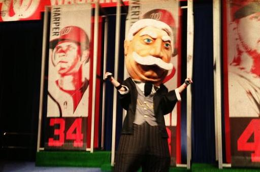 Photo: Nationals Unveil New Racing President, 'Bill'
