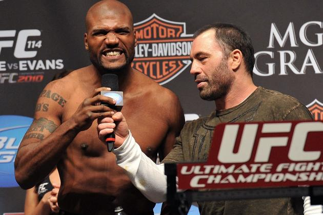 Rampage Jackson's UFC Career More Memorable for Deeds Outside the Cage