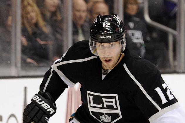 Gagne Back in Kings' Lineup, Mitchell and Penner Still out