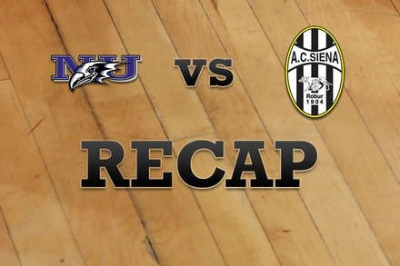Niagara vs. Siena: Recap and Stats