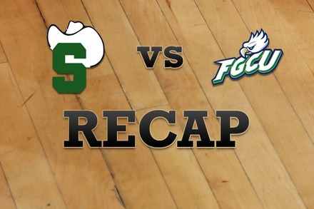Stetson vs. Florida Gulf Coast: Recap and Stats
