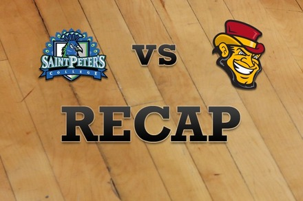 St. Peter's vs. Iona: Recap and Stats