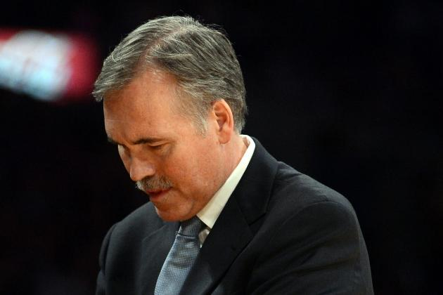 Los Angeles Lakers: Will Mike D'Antoni Survive the Season?