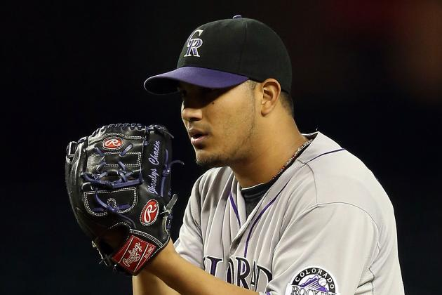 Rockies, Chacin Agree to Two-Year Deal