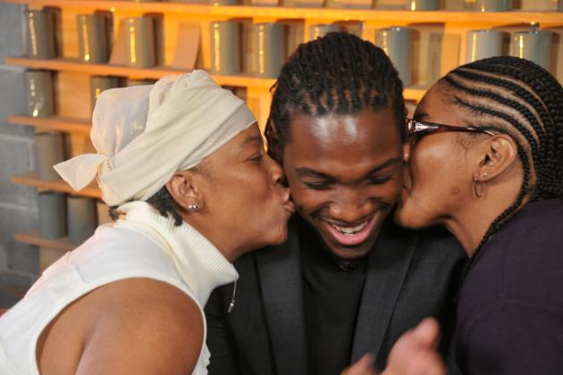 Kenneth Faried Introduces World to His 2 Moms, Voices Support for Civil Unions