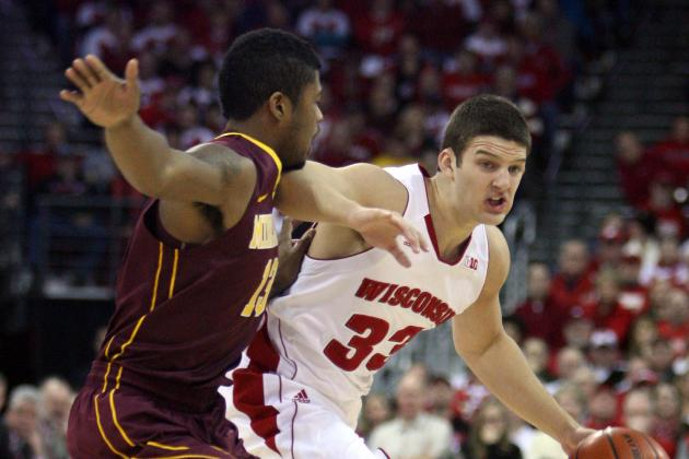 Wisconsin 45, No. 12 Minnesota 44