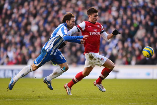 Arsenal: Olivier Giroud Is Showing Signs He Could Replace Robin van Persie