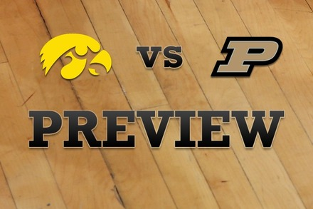 Iowa vs. Purdue: Full Game Preview