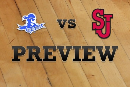 Seton Hall vs. St John's: Full Game Preview