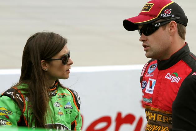 Danica Patrick Dating Ricky Stenhouse Will Be Huge Boost for NASCAR