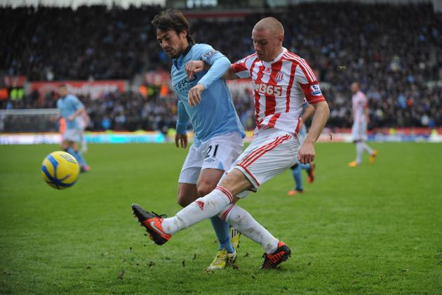 Manchester City Ease Past Pedestrian Stoke as Shining Silva Rules the Britannia