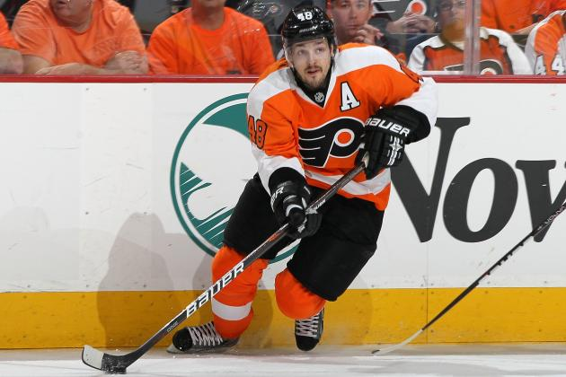 Danny Briere Returns to Flyers' Lineup