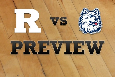 Rutgers vs. Connecticut: Full Game Preview