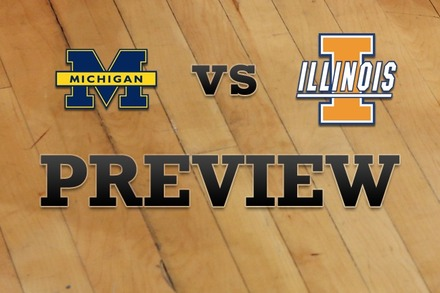 Michigan vs. Illinois: Full Game Preview