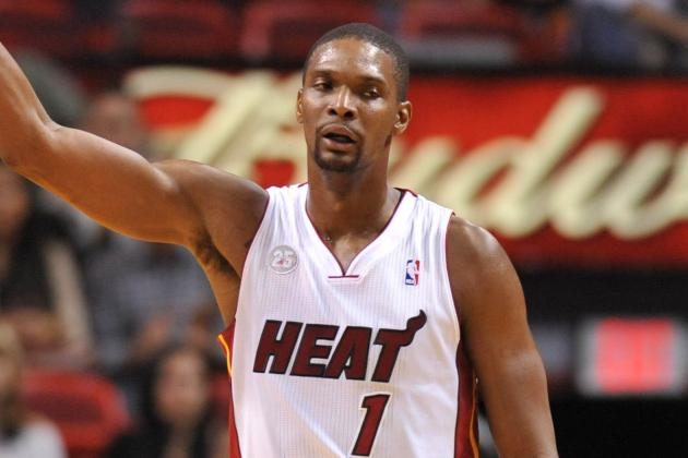 Chris Bosh Says He's a Lock to Make the Hall of Fame