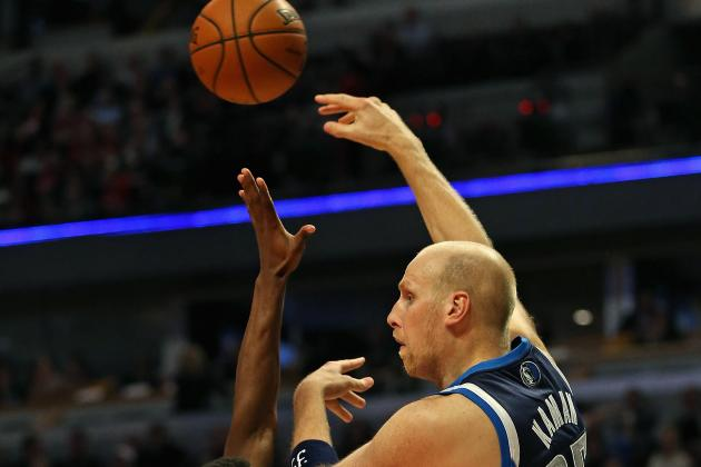 Mavericks' Chris Kaman Says L.A. Lakers 'Trying to Buy a Championship Team'