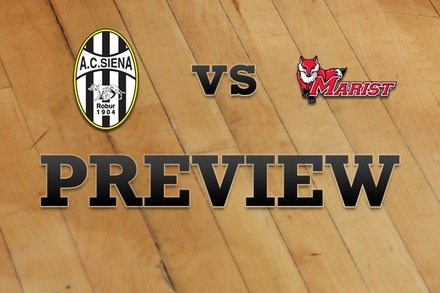 Siena vs. Marist: Full Game Preview