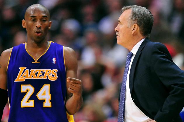 D'Antoni: Less Scoring for Kobe Not a Bad Thing