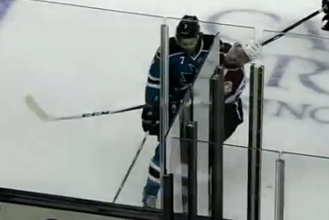 Brad Stuart's Hit on Avs Captain Gabriel Landeskog
