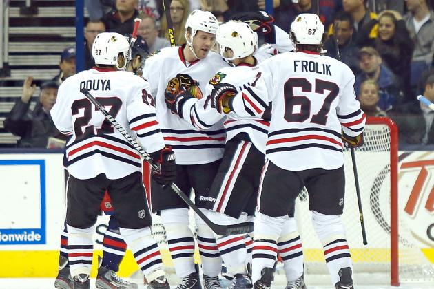 Blackhawks Become League's First 5-0 Team