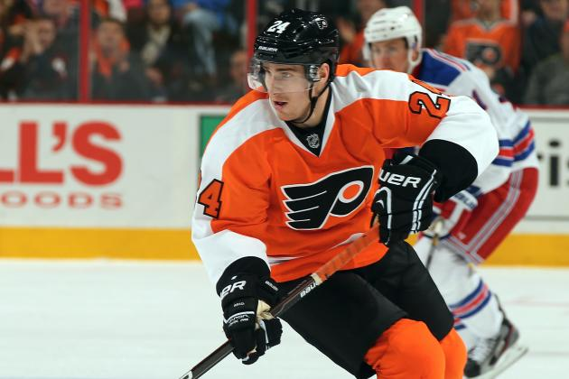 Read's Hat Trick Leads Flyers to Rout of Panthers