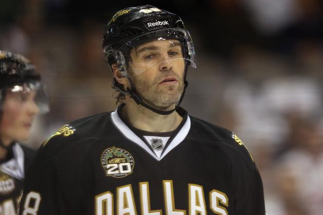 Injury Updates: Jagr, Nilstorp and Roy Are Day-to-Day