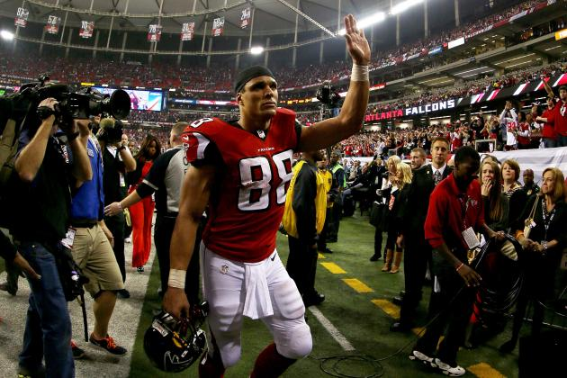 2013 Atlanta Falcons: Loss of Tony Gonzalez Will Open the Offense Even More