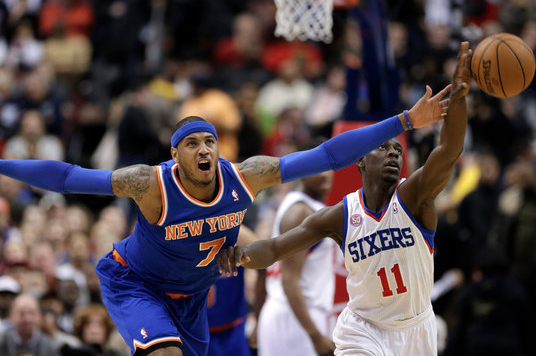 Even with Core Back, Knicks Are No Match for 76ers' Holiday
