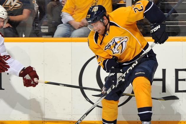 Patric Hornqvist Will Not Return vs. Ducks Due to Leg Injury