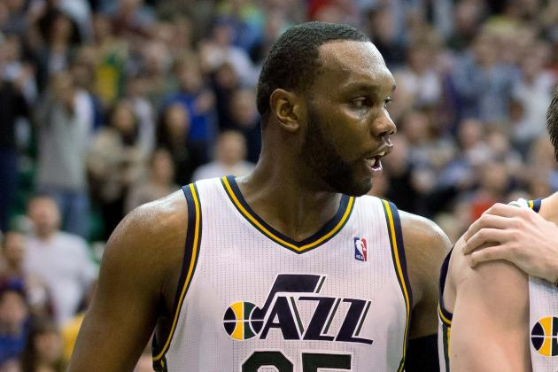 Al Jefferson Leads Utah Jazz to Overtime Win over Indiana Pacers